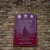 The RC Parish Church of All Saints, Ashton upon Mersey, Sale, Sign