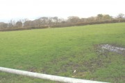 Farmland east of the Dinas-y-prif to Felinwnda road