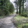 Track past Gwysaney Hall