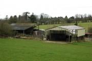 Farm buildings, Hawthorn Road