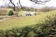 Farmland above Maesycwmmer