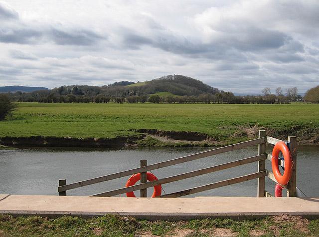 River Wye from The Stank, Hampton Bishop