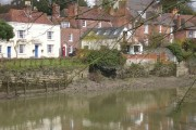 Aylesford, the church and the river Medway