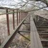 Crayford: Former railway bridge