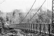 The Swingin' Bridge at Sion Mills
