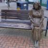 Sculpture in Perth High Street