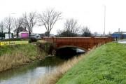 Brick Bridge over Beverley and Barmston Drain