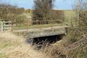 Bridge over the North Low near Goswick