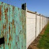 Darfield Cricket Club boundary fence