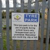 Tyre Park sign