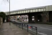 Railway bridge, London Road, Isleworth