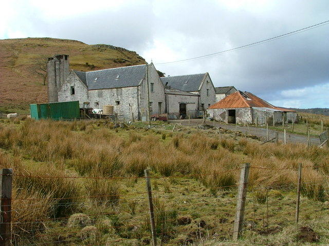 Farm at Skeabost