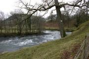 Afon Dyfi at Mallwyd