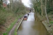 Macclesfield canal in Congelton