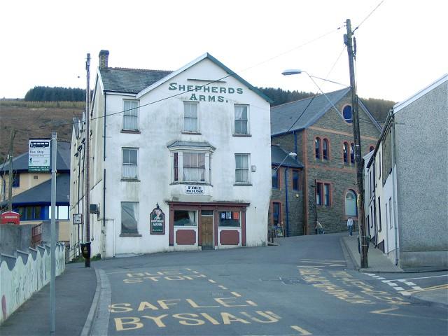 Shepherds Arms, Cwmaman