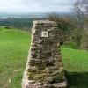 A Triangulation Pillar 3627 on Haresfield Beacon