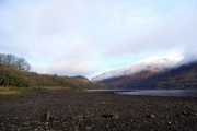 North West towards the falls of Cruachan
