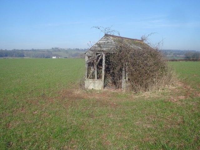 Small shed at Pow Green