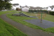 Play area in housing estate