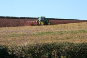 Broadclyst: ploughing at Broomhill