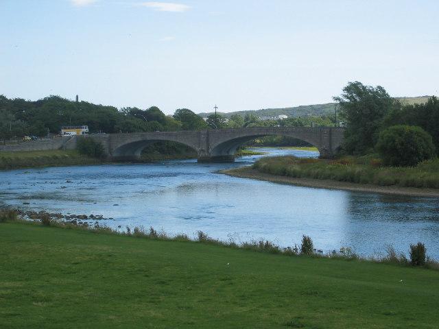 George VIth Bridge over the River Dee, Aberdeen