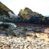 Glen Maye, beach south of the stream