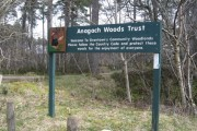 Southern Entrance to Anagach Woods
