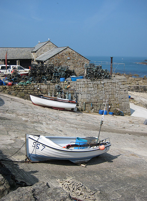 Fish landing quay, Sennen Cove
