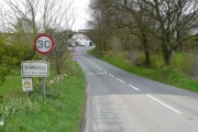 Shirwell on the A39