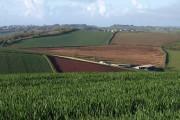 Farmland above Stokeinteignhead