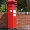 Victorian postbox, Caerleon, Newport