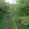 Disused railway from the Waste Lane bridge