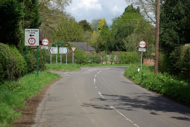 Junction of Truggist Lane and Hodgetts Lane