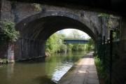 Railway bridge 8, Paddington Arm, Grand Union Canal