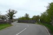 Canal bridge on Four Crosses Lane, Staffordshire