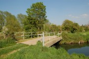 Stone bridge over the River Frome near Wheatenhurst