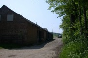 Farm building at The Poplars
