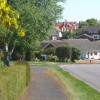 Thornhill Road, residential area of Claydon