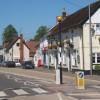 Village street, Claydon