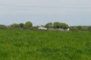 West Stowford Farm seen from the lane above Higher Aylescott.
