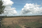 Recently ploughed land