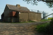 Grain Store And Bins, Rectory Farm