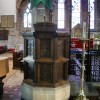 St Mary's Church, Kirkby Lonsdale, Pulpit