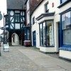 Shop fronts in Eccleshall