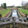 Droitwich Barge Canal lock 3, looking east