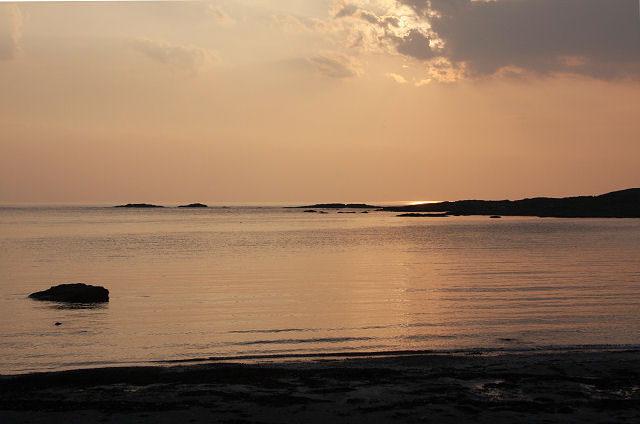 Sunset at Port Mòr, Colonsay