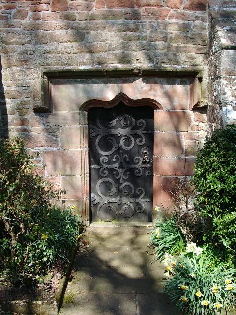 St Wilfred's Church, Brougham, Doorway