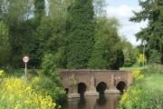 Caunsall Bridge over the River Stour