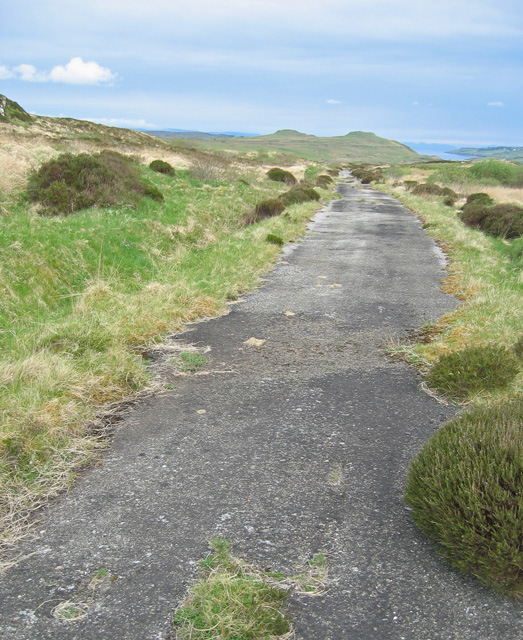The old road to Uig