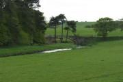 Old bridge over the North Medwin water near Newbigging Mill